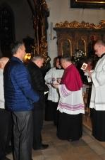 Ogólne spotkanie Bractwa w Jemielnicy - Część I w kościele (30.10.2016)